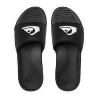 Quiksilver BRIGHT COAST SLIDE BLACK/WHITE/BLACK pánské pantofle - 40,5EUR