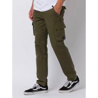 Animal PENN olive plátěné sportovní kalhoty pánské - 38