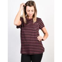 Fox Striped Out ROSE dámské tričko s krátkým rukávem - S
