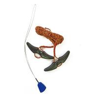Burton LACE KIT RED/YELLOW tkaničky do snowboardových bot