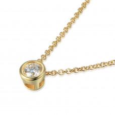 Couple Zlatý dámský náhrdelník Kirsty 3840118-0-45-99