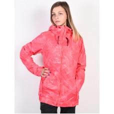Roxy VALLEY TEA BERRY WASHED FLORAL zimní bunda dámská - M