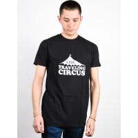 Line Tc Will Flip black pánské tričko s krátkým rukávem - L