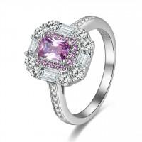 OLIVIE Stříbrný prsten LILIEN 2701 Velikost prstenů: 9 (EU: 59 - 61)