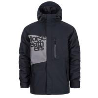 Horsefeathers CLAPTON black zimní bunda pánská - M