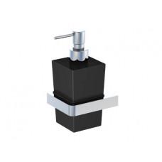 STEINBERG - Dávkovač tekutého mýdla, černé sklo (420 8002)