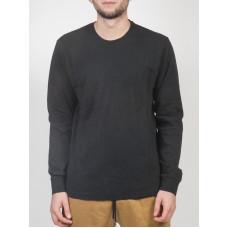 RVCA CHAIN black pánské tričko s dlouhým rukávem - S