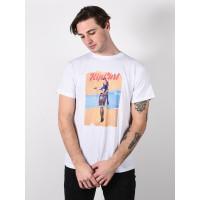 Rip Curl GOOD DAY BAD DAY white pánské tričko s krátkým rukávem - XL