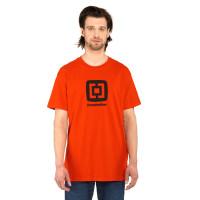 Horsefeathers FAIR tomato red pánské tričko s krátkým rukávem - L
