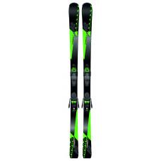 Dětské lyže K2 CHARGER JR + FDT 7 black SET (2019/20) velikost: 134 cm