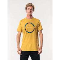 Rip Curl FILTER PARTY MUSTARD pánské tričko s krátkým rukávem - XL