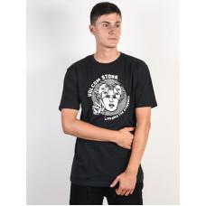 Volcom Mindstate black pánské tričko s krátkým rukávem - M