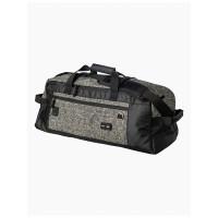 RVCA SKATE DUFFEL DX BLACK/GREY velká cestovní taška
