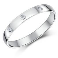 OLIVIE Stříbrný rhodiovaný prsten se zirkony 3771 Velikost prstenů: 6 (EU: 51 - 53)