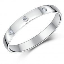 OLIVIE Stříbrný rhodiovaný prsten se zirkony 3771 Velikost prstenů: 9 (EU: 59 - 61)