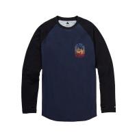 Burton ROADIE TECH T MOOD INDIGO pánské tričko s dlouhým rukávem - S