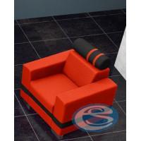 Křeslo R1 oranžovo-černé - FALCO