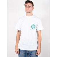 Etnies Laster white pánské tričko s krátkým rukávem - XL
