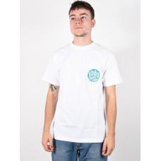 Etnies Laster white pánské tričko s krátkým rukávem - L