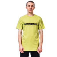 Horsefeathers QUARTER linden green pánské tričko s krátkým rukávem - XL