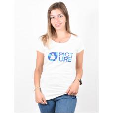 Picture Basement Cloud white dámské tričko s krátkým rukávem - XS