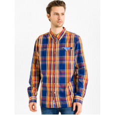 Picture Duck ORANGE pánská košile dlouhý rukáv - XL