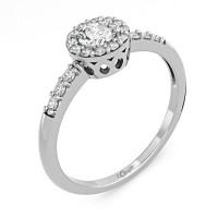 Zlato Zlatý dámský prsten Sari 6660270 Velikost prstenu: 56