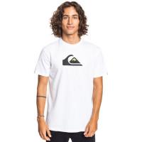 Quiksilver COMP LOGO white pánské tričko s krátkým rukávem - M