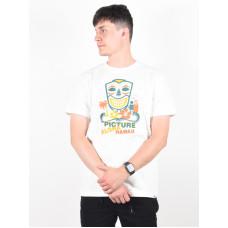 Picture Aloha white pánské tričko s krátkým rukávem - XL