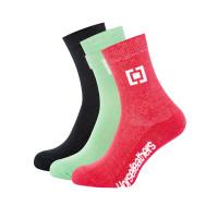 Horsefeathers TATI 3PACK moderní barevné dámské ponožky - 7 - 8