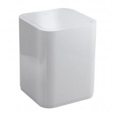 AQUALINE - SEVENTY odpadkový koš výklopný, 8 l, plast ABS, bílá (630922)