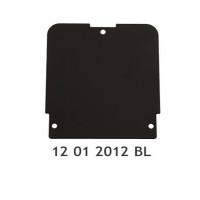 Černý kryt pro opěrky EMP De Luxe VKT - EMP Holland 12012012BL