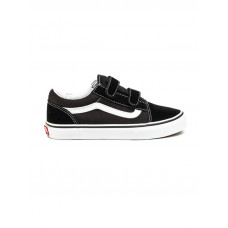 Vans Old Skool V Black/True White dětské letní boty - 38,5EUR