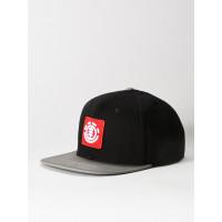 Element UNITED CAP A BLACK/GREY pánská kšiltovka