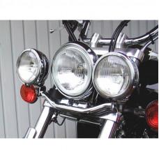 rampa na přídavná světla Fehling Yamaha XVS 650/1100 Drag Star 99-02 chrom - Fehling Ernest GmbH a Co. 7557LHYA