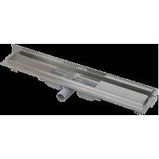 Alcaplast APZ104-650-LOW podlahový žlab ke zdi v.55mmSNÍŽENÝ min. 700mm kout (APZ104-650)