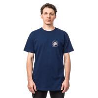 Horsefeathers MOUNTAINHEAD indigo pánské tričko s krátkým rukávem - L
