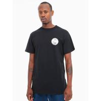 Dc BONTON black pánské tričko s krátkým rukávem - M
