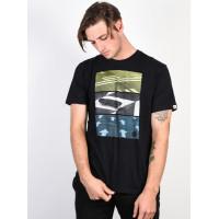 Element DIRECTION FLINT BLACK pánské tričko s krátkým rukávem - L