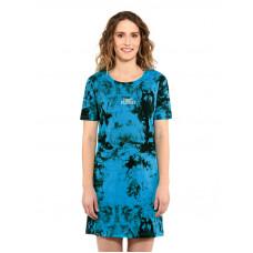 Horsefeathers LEXIS BLUE TIE DYE společenské šaty krátké - S