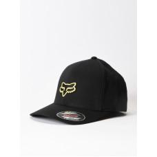 Fox Legacy BLACK/YELLOW baseball čepice - XXL