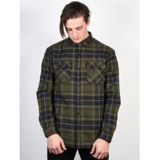 Burton BRIGHTON INSL FL FOREST NIGHT ROWAN pánská košile dlouhý rukáv - M