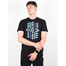 Picture End black pánské tričko s krátkým rukávem - L