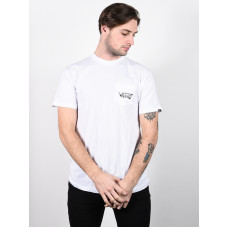 Vans ROWAN ZORILLA SKULL white pánské tričko s krátkým rukávem - M