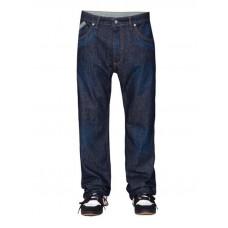 Peace crosstown jeans indigo značkové pánské džíny - XS