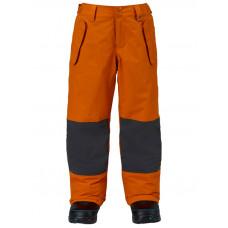 Burton BOYS PARKWAY MAUSET/FADED zateplené kalhoty dětské - XL