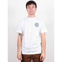 Independent Stained Glass Cross white pánské tričko s krátkým rukávem - XL