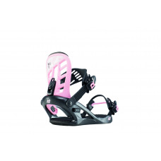 Dětské snowboardové vázaní K2 KAT black pink (2019/20) velikost: M