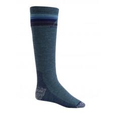 Burton EMBLEM MDWT MOOD INDIGO HEATHER kompresní ponožky - M