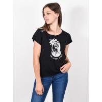 Roxy SWEET SUMMER NIGHT A ANTHRACITE dámské tričko s krátkým rukávem - L